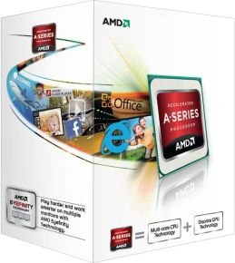 AMD A8 5500 3.2GHz Socket FM2 4MB L2 Cache Retail Boxed Processor