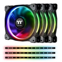 Thermaltake Riing Plus 12 RGB Radiator Fan Lumi Plus TT Premium Edition Combo Kit