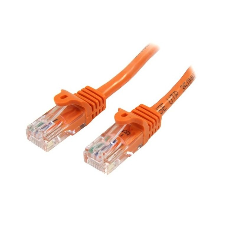 StarTech.com Cat 5e Snagless Ethernet Cable Orange 7M