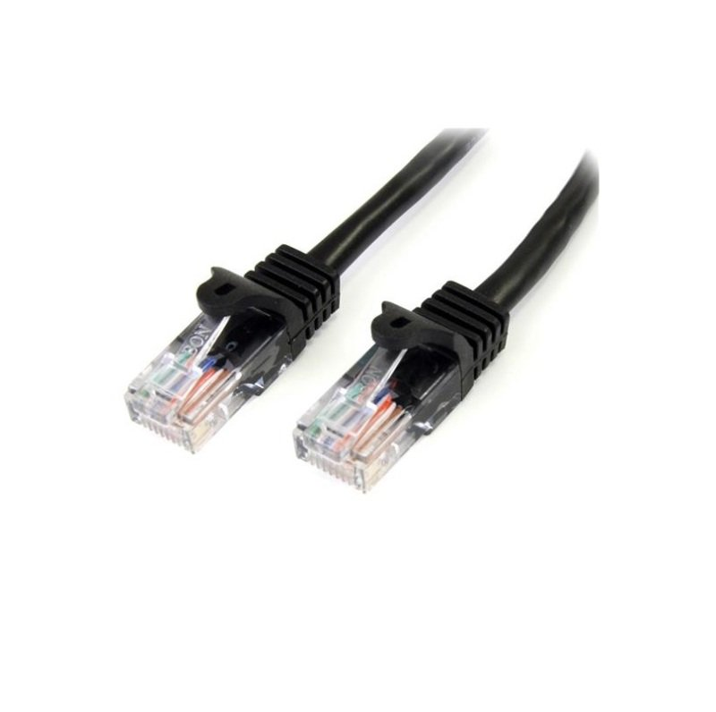 StarTech.com Cat 5e Snagless Ethernet Cable Black 7M