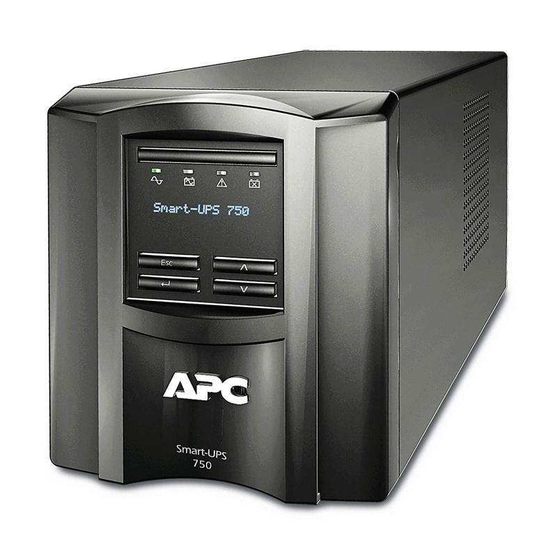 APC Smart-UPS SMT750IC - UPS - 500 Watt - 750 VA - with APC SmartConnect