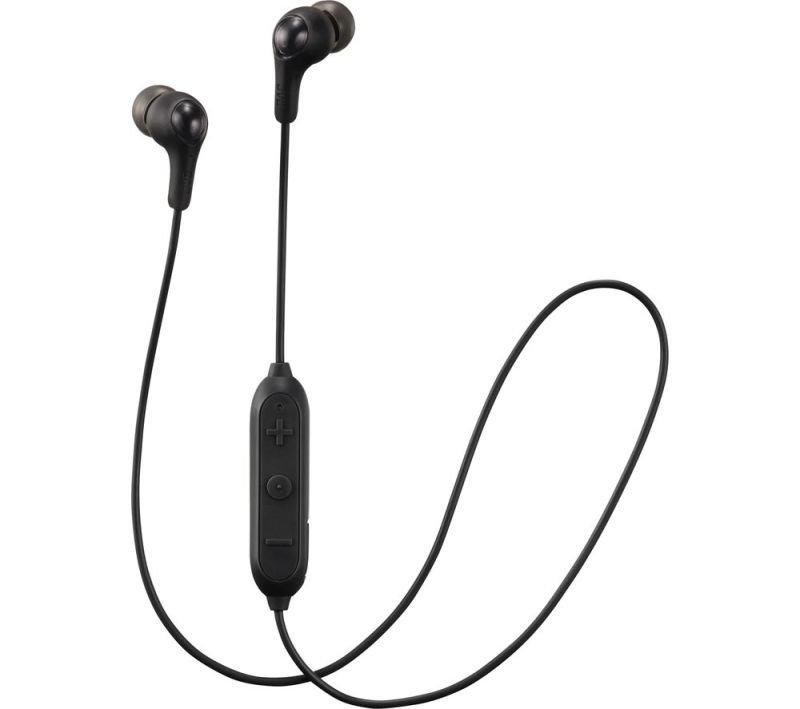 JVC Gumy Wireless Black Headphones