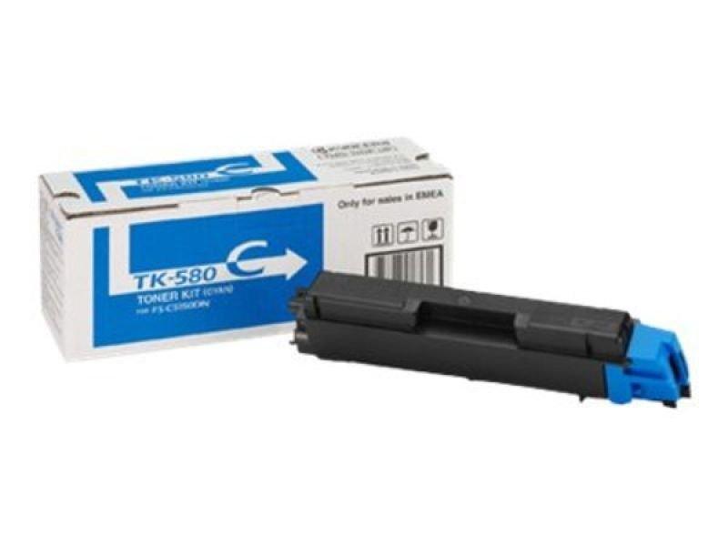 Kyocera TK 580C Cyan Toner cartridge