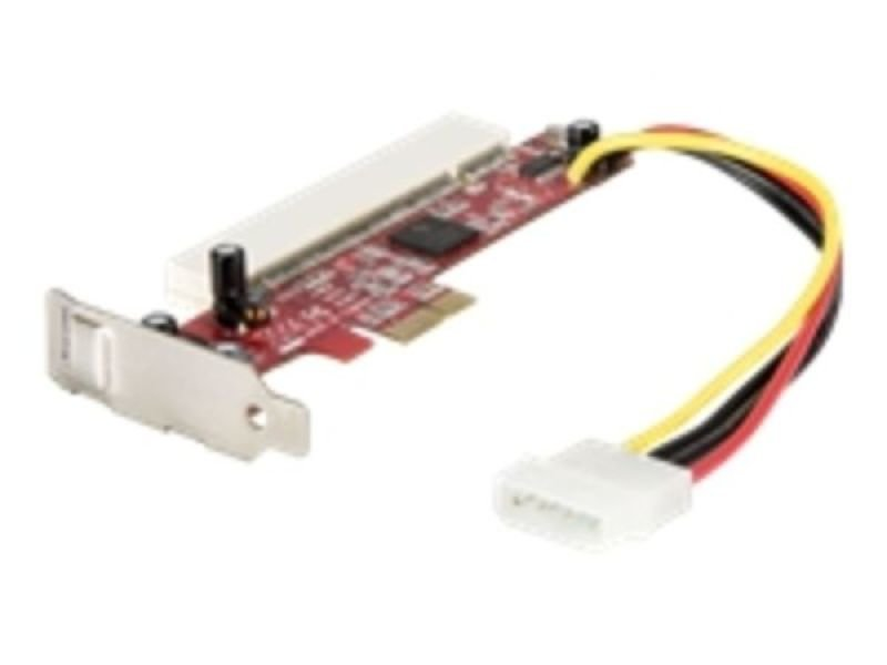 StarTech.com PCI Express to PCI Adapter Card - PCIe to PCI Converter Adapter with Low Profile / Half-Height Bracket