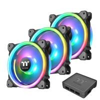 Riing Trio 12 LED RGB Radiator Fan TT Case (3-Fan Pack)