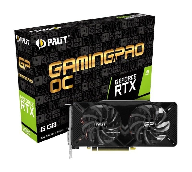 Palit GeForce RTX 2060 GamingPro OC 6GB Graphics Card