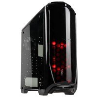Aviator V Midi Tower Gaming Case - Black