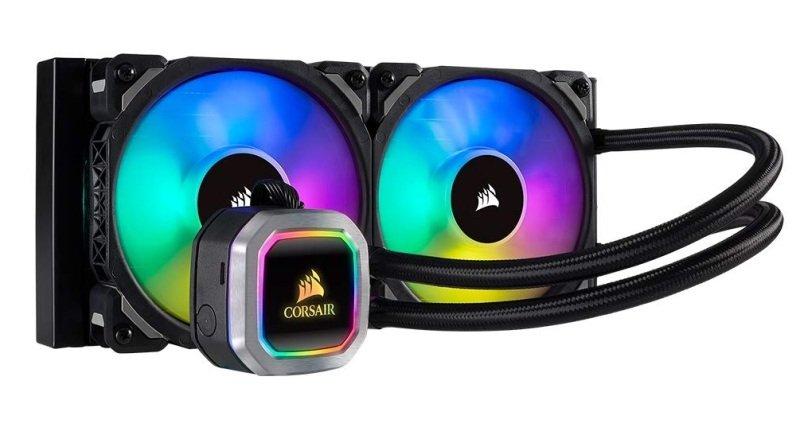 Corsair Hydro Series H100i RGB Platinum 240mm Liquid CPU Cooler