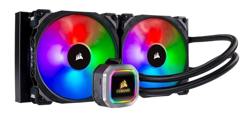 Corsair H115i RGB Platinum Hydro Series 280mm Liquid CPU Cooler