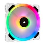 Corsair LL120 RGB 120mm White RGB LED PWM Single Fan