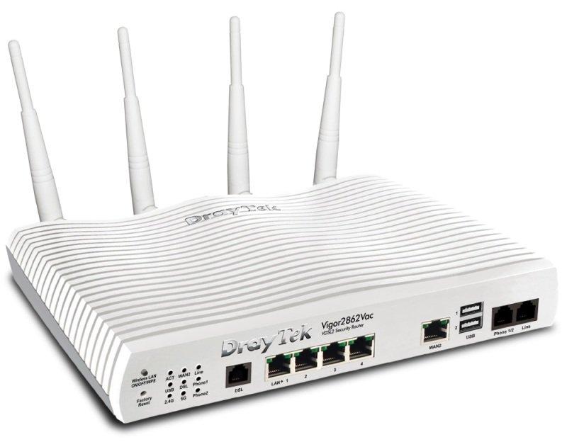 Draytek Vigor 2862Vac ADSL/VDSL Router with VoIP
