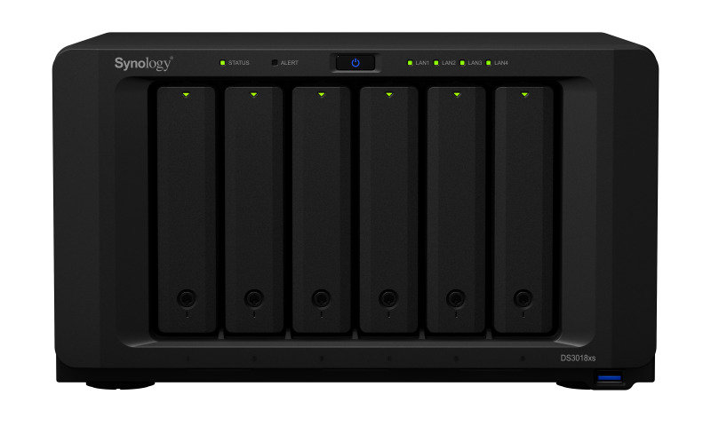 Synology DS3018xs 72TB (6 x 12TB SGT-IW) 6 Bay Desktop NAS Unit