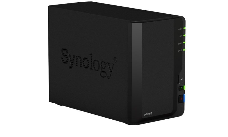 Synology DS218+ 12TB (2 x 6TB WD RED) 2 Bay Desktop NAS Unit