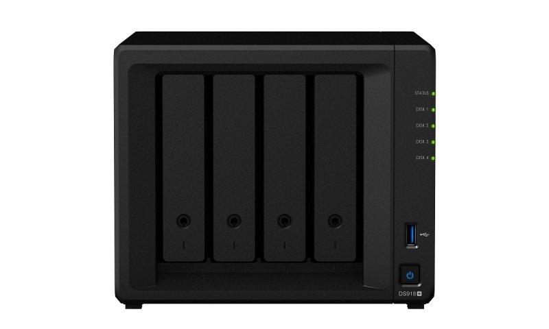 Synology DS918+ 56TB (4 x 14TB SGT-IW) 4 Bay Desktop NAS Unit