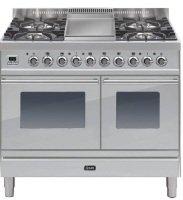 dea8fcb3db ILVE Roma Dual Fuel 100cm Twin 6 Burner S Steel