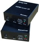 DrayTek HVE290 HDMI-over-IP Converter Set (Sender & Receiver)