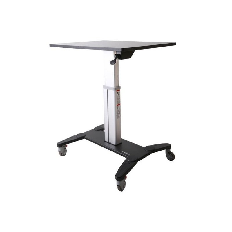 StarTech.com Mobile Sit-Stand Workstation