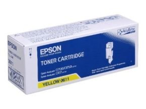 Epson AL-C1700 Yellow High Capacity Toner Cartridge