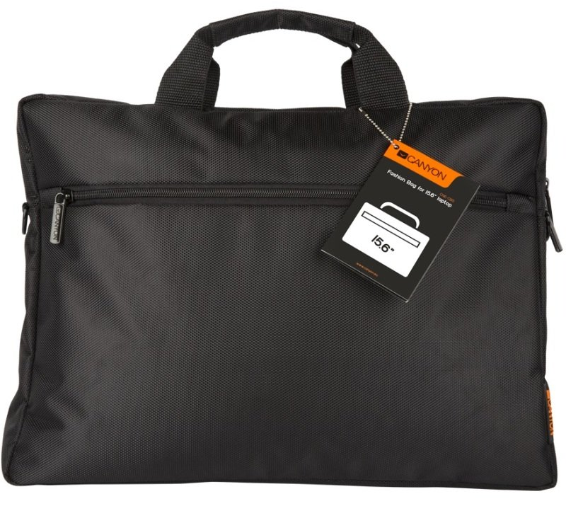 Canyon Casual Laptop Bag for 15 Inc Laptops in Black