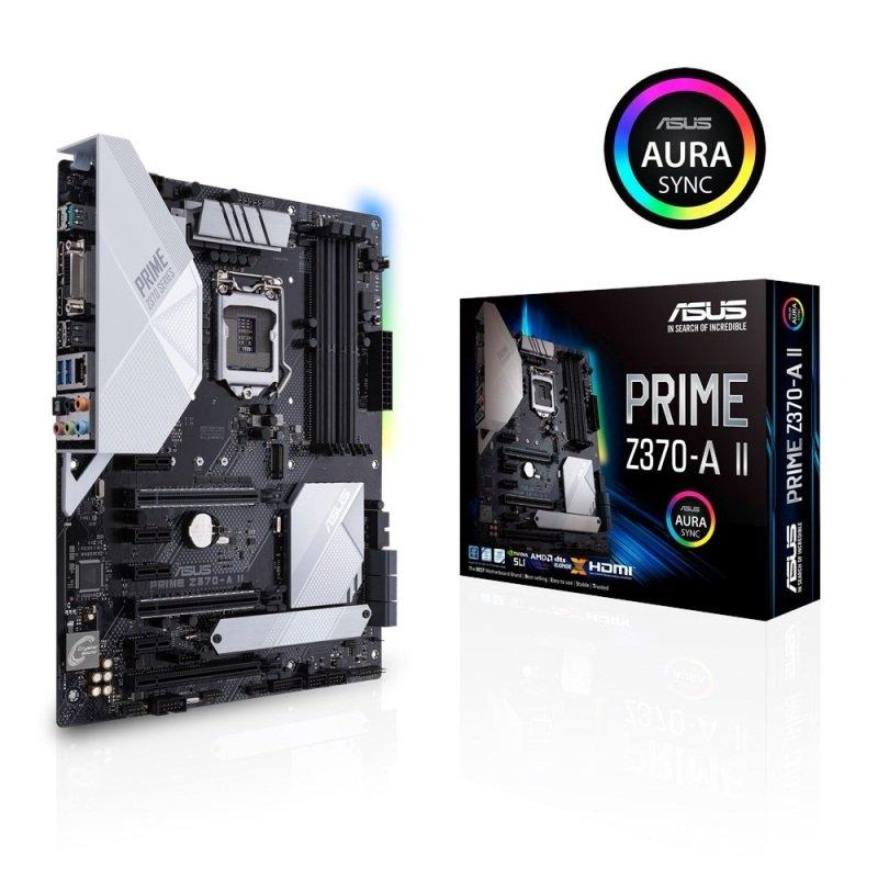 Asus PRIME Z370-A II LGA 1151 DDR4 ATX Motherboard