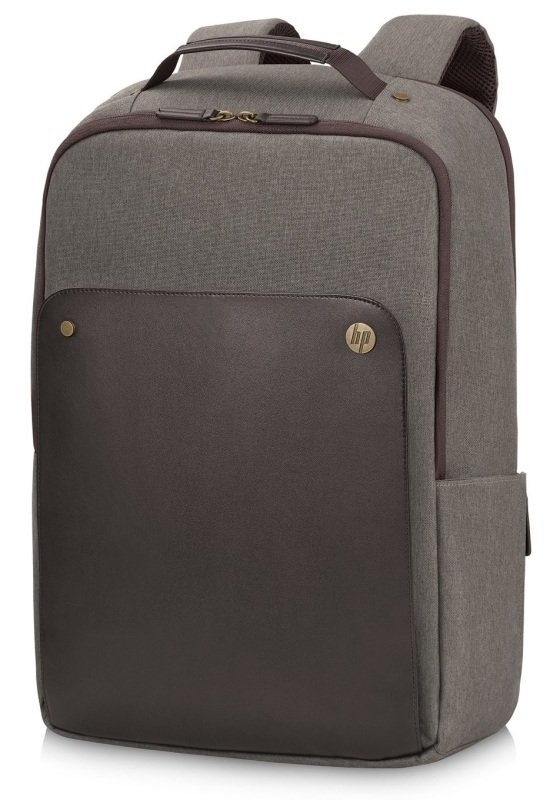 "HP 15.6"" Executive Brown Backpack"