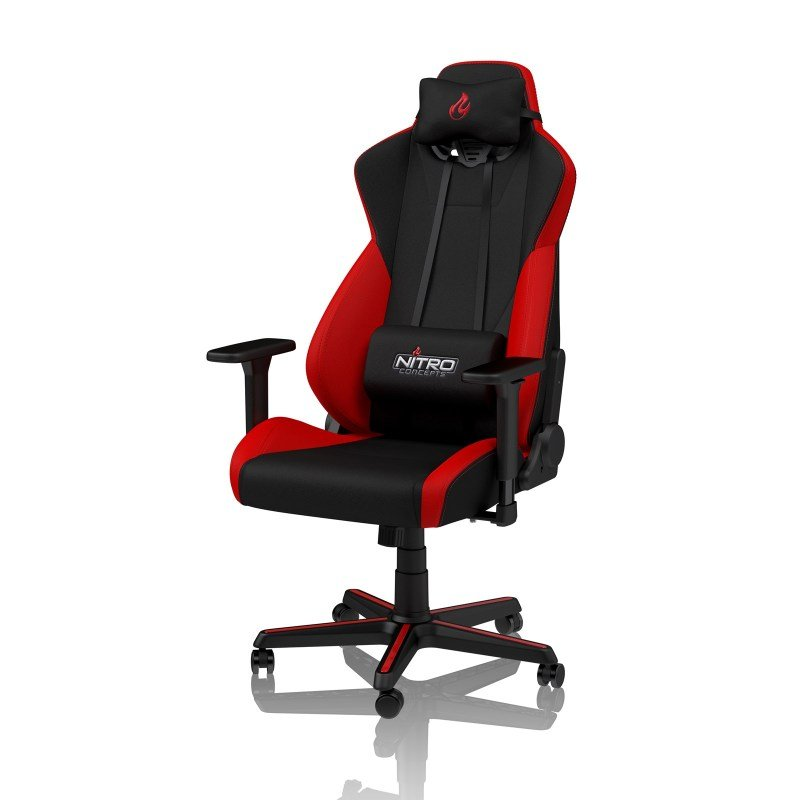 EXDISPLAY Nitro Concepts S300 Fabric Gaming Chair - Inferno Red