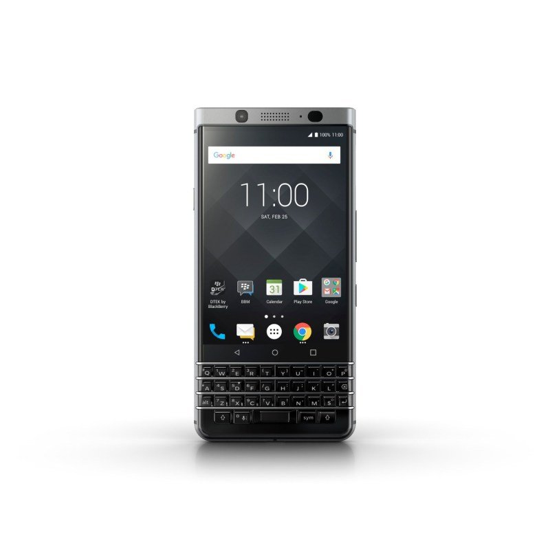 """Blackberry KEYone 4.5"""" 32GB Android Smartphone - Silver"""