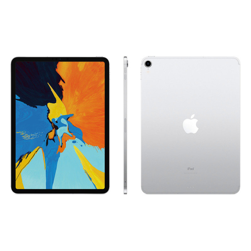 "Apple iPad Pro 11"" 256GB WiFi + Celular Tablet - Silver"