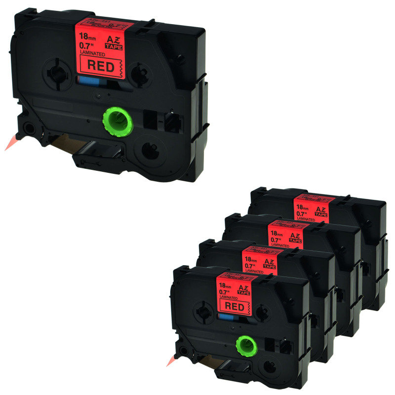 Brother TZ441 18mm Blk/red Labelling Tapes