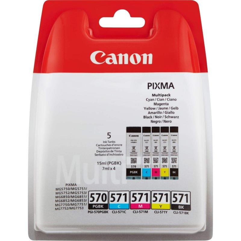 Canon CLI 8 Multipack Ink Cartridge- Blister pack