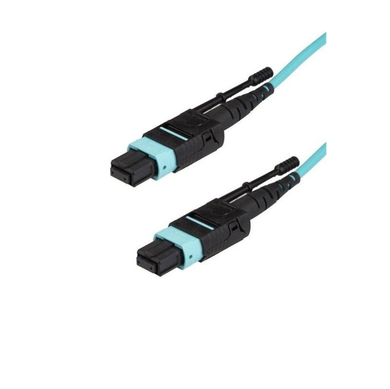 3m Mpo / Mtp Fiber Optic Cabl - Om3 40gb - Push/pull Tab