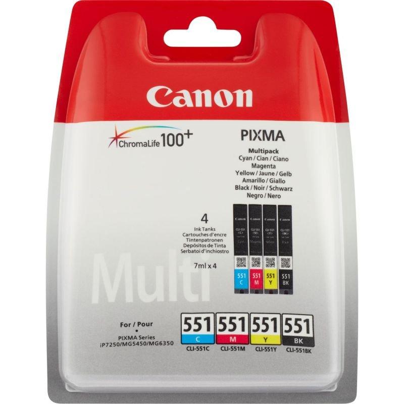 Canon CLI-551 Multi Pack Ink Cartridge