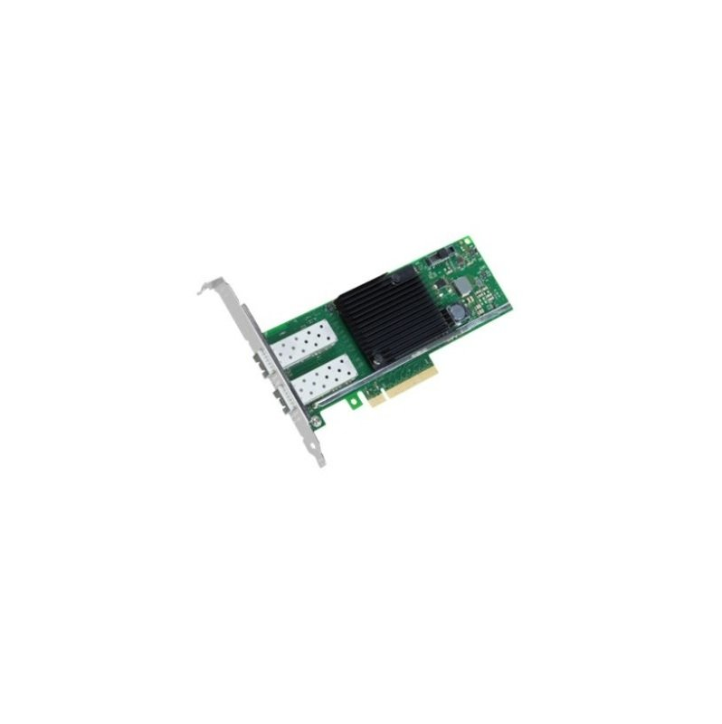 2 Channel 10Gbit/s LAN Controller PCIe 3.0 x 8 SFP+ for opt. module or Twinax cable