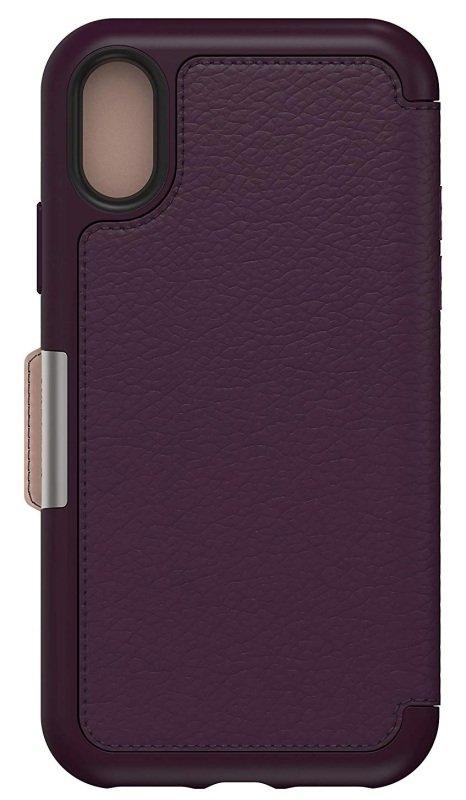 OtterBox Folio Case Case for iPhone XS/X Purple