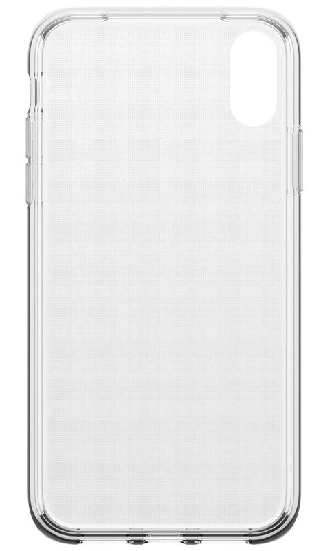 OtterBox Clear Case and Alpha Glass Screen Protector for iPhone XR