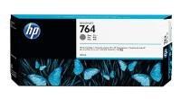 HP 764 GreyOriginalDesignjet Ink Cartridge - Standard Yield 300ml - C1Q18A