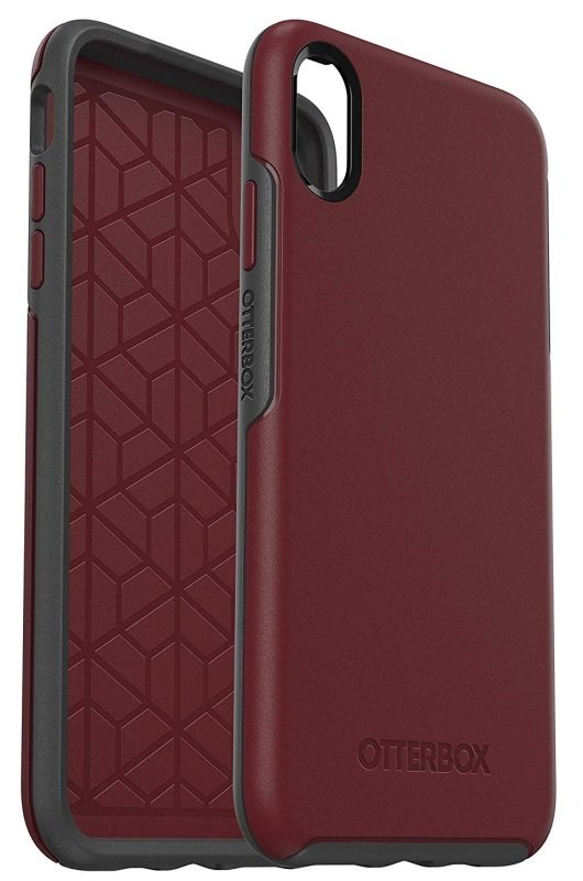 OtterBox Symmetry Series Burgundy Case for iPhone Xs Max