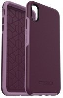 OtterBox Symmetry Series Purple Case for iPhone Xs Max