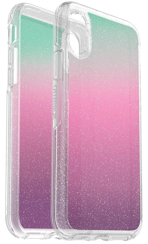OtterBox Symmetry Series Pink Glitter Case for iPhone X/Xs