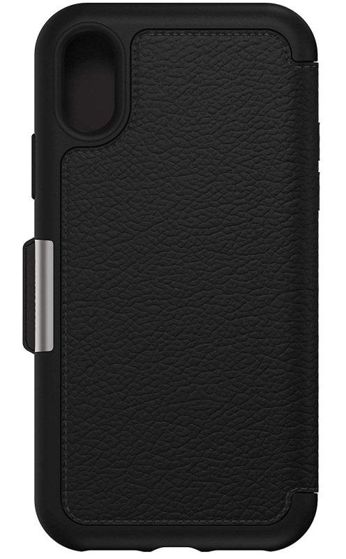 OtterBox Strada Series Folio Black Case for iPhone X/Xs
