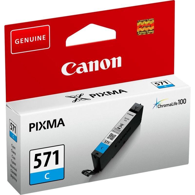 Canon CLI-571 Cyan Ink Cartridge
