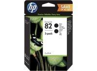 HP 82 Multi-pack 2x Black Original Ink Cartridge - High Yield 69ml - P2V34A