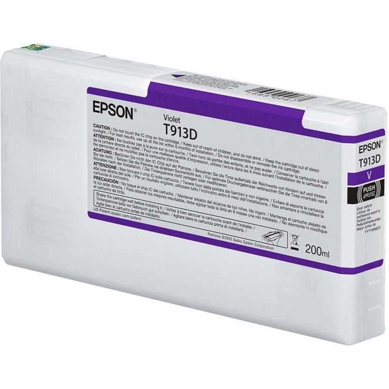 Epson Violet T913D Ink Cartridge 200ml