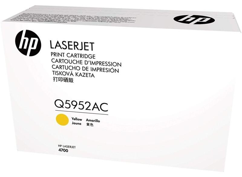HP Toner/Q5952A Yellow Print Cartridge