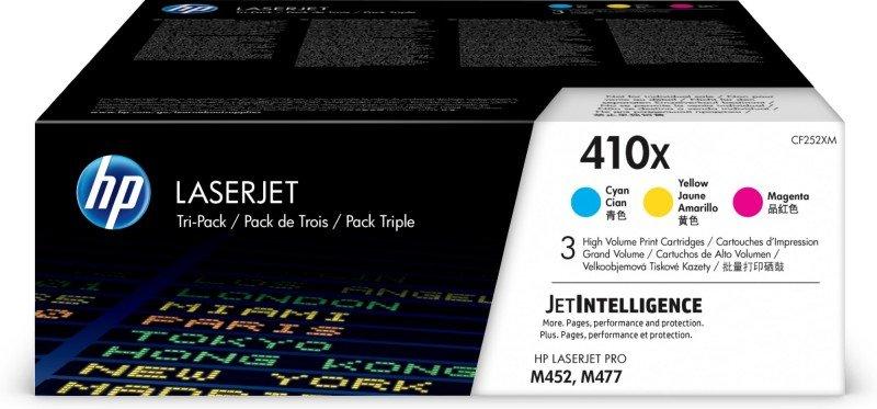 HP 410X High Yield Colour Multipack Original Toner Cartridges - CF252XM
