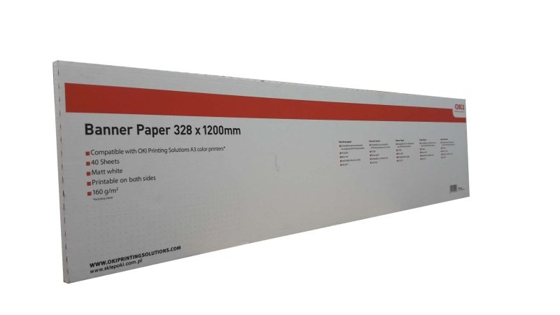 Image of Banner Paper A3 (40 Sheets328x1200mm)