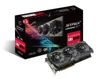 EXDISPLAY Asus AMD Radeon RX580 ROG STRIX OC 8GB Graphics Card