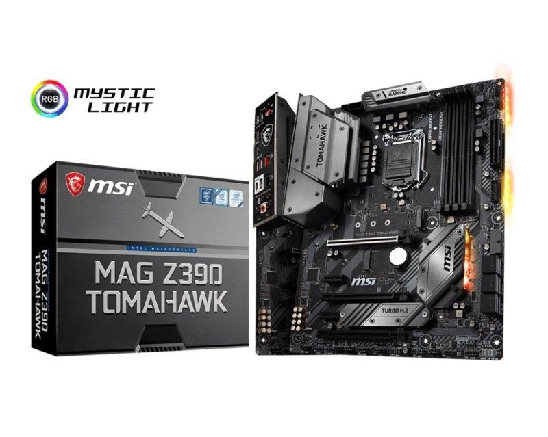 EXDISPLAY MSI MAG Z390 TOMAHAWK 1151 DDR4 ATX Motherboard