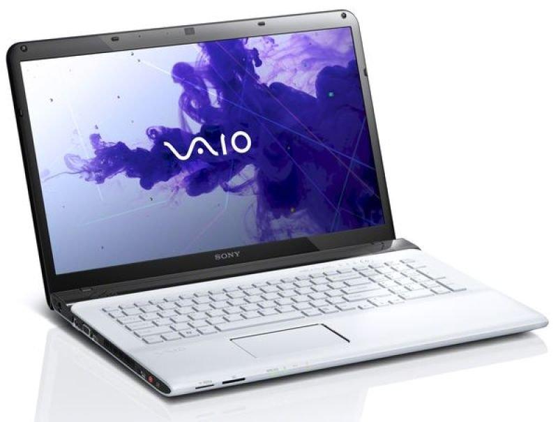"Sony Vaio E1511f1e Laptop, Intel Core I3-2370m 2.4ghz, 4gb Ram, 640gb Hdd, 15.5"" Hd Led, Dvdrw, Bluetooth, Webcam, White, Windows 7 Home Premium 64-bit,"
