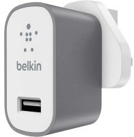 Belkin Premium MixIt Mains Charger Grey and White